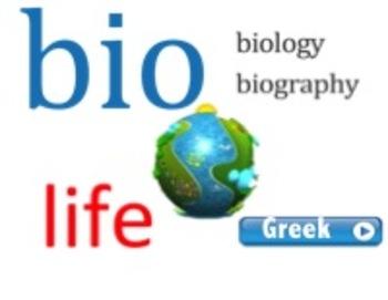 Greek & Latin Roots Smartboard Module