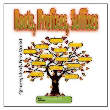 Greek & Latin Roots, Prefixes, Suffixes Bundle