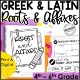 Greek & Latin Roots, Prefixes, & Suffixes Unit | Root Words & Affixes | 4th-6th