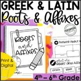 Greek & Latin Roots, Prefixes, & Suffixes Unit | Root Word
