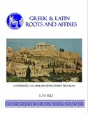 Greek & Latin Roots and Affixes Workbook