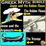 Greek Myth Reading BUNDLE JASON & THE GOLDEN FLEECE Text & Task Cards