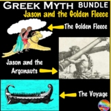 Greek Myth Reading BUNDLE JASON & THE GOLDEN FLEECE Text &