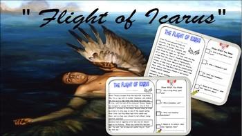 "Greek Myth Close Read ""Flight of Icarus"""