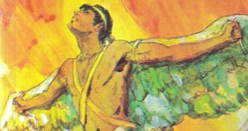 Greek Myth ICARUS and DAEDALUS w/ 5 Short Answer Reading Comprehension Questions