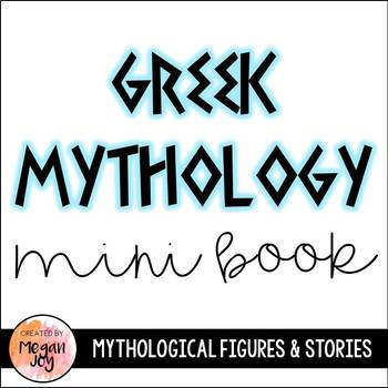 Greek Mythology Mini Book