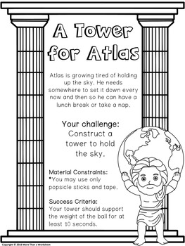 Greek Myth STEM: A Tower for Atlas