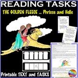 Greek Myth THE GOLDEN FLEECE Text & Reading Task Cards