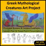 Greek Mythological Creatures Art Project