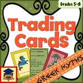 Greek Mythological Creatures Trading Cards
