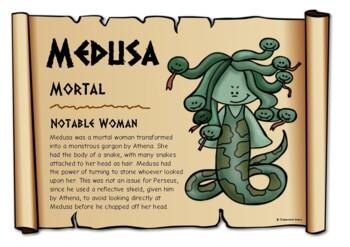 Greek Mythological Figures - Females