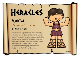 Greek Mythological Figures - Males