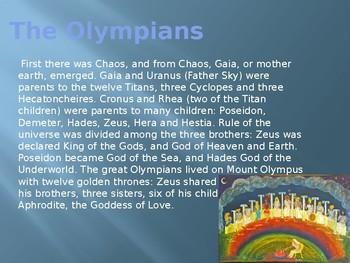 Greek Mythology 101