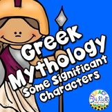 Greek Mythology Posters, Flashcards, and I Have Who Has Game