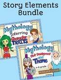 Greek Mythology Integrated w/ Story Elements - Character traits - Plot & Theme