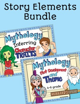 Greek Mythology w/ Story Element Bundle - Character traits - Plot & Theme