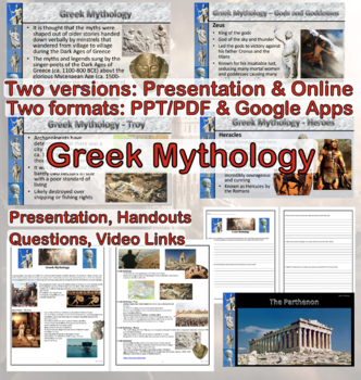 Ancient Greece: Greek Mythology