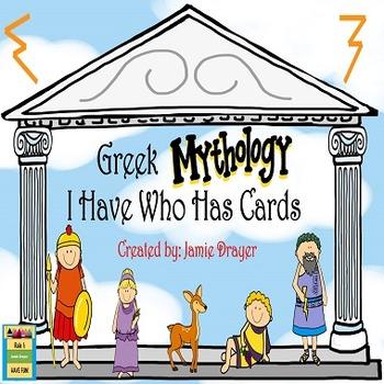Greek Mythology Activity: History and Gods/Goddesses