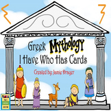 Greek Mythology Activity: History and Gods/Goddesses