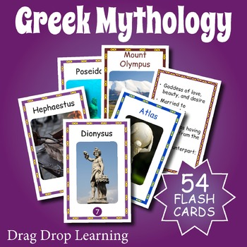 Greek Mythology Flaschards
