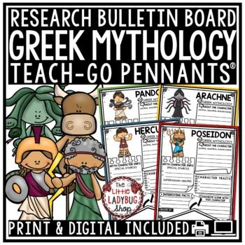 Greek Mythology Research Project & Rubric