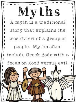 Elementary Greek Mythology Unit