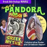 Greek Mythology Activities BUNDLE — The Myth of Pandora's Box