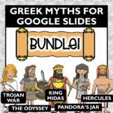 Greek Mythology Activities for Google Slides Bundle- Dista