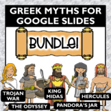 Greek Mythology Activities for Google Slides Bundle- Dista