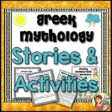 Greek Mythology Stories plus Activities