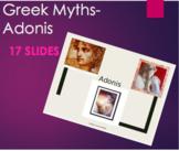 Greek Mythology - Adonis PPT