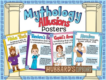 Greek Mythology Allusion Posters