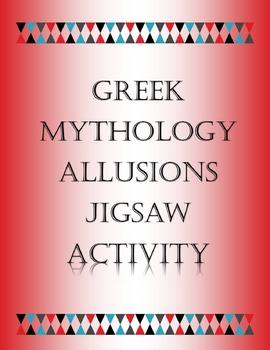 Greek Mythology Allusions Jigsaw Activity-RL4.4