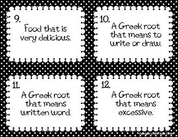 Greek Mythology Allusions Task Cards
