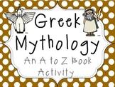 Greek Mythology: An A to Z Vocabulary Book Activity