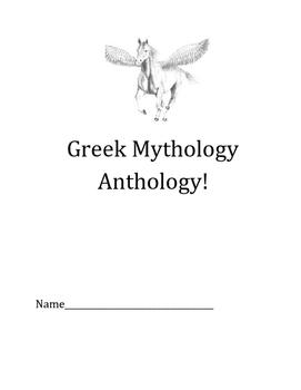 Greek Mythology Anthology