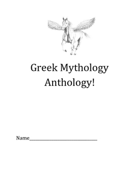 Greek Mythology Anthology
