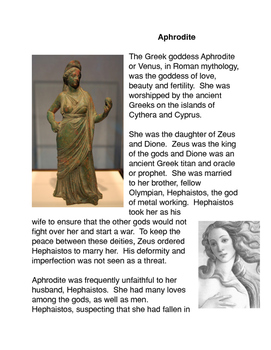 Greek Mythology: Aphrodite