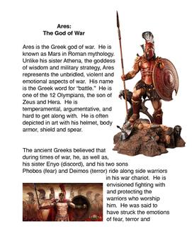 Greek Mythology: Ares