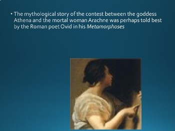 Greek Mythology - Athena and Arachne PPT
