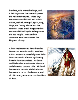Greek Mythology: Atlas