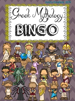 Greek Mythology BINGO!