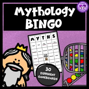Greek Mythology Bingo