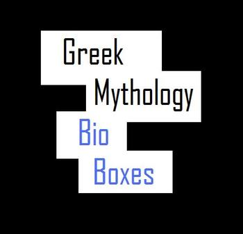 Greek Mythology Bio Boxes: A Mini-Research Project