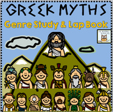 Lap Book: Greek Mythology | Activities Graphic Organizers