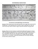 Greek Mythology Capstone Unit