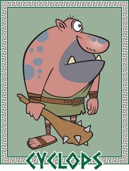 Greek Mythology Cartoon Clipart