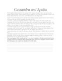 Greek Mythology: Cassandra and Apollo