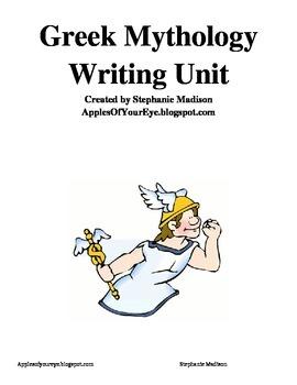 Greek Mythology Character Writing Unit
