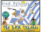 Greek Mythology Clip Art: Custom Graphics Collection Set #2
